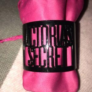 Victoria's Secret Black Cuff Bracelet